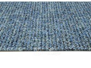 Metrážový koberec bytový Durban 77 modrý - šíře 4 m (Šíře role Cena za 1 m2)