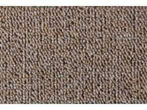 Metrážový koberec bytový Rambo Bet 60 hnědý - šíře 5 m