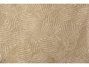 Metrážový koberec bytový Cloud 333 béžový - šíře 4 m