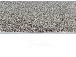 Metrážový koberec bytový Dalesman 71 hnědý - šíře 5 m