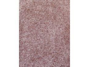 Metrážový koberec bytový Evora 500 hnědý šíře 4 m