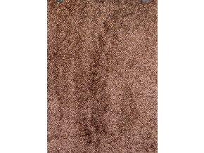 Metrážový koberec bytový Gloria 40 hnědý šíře 4 m