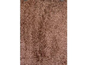 Metrážový koberec bytový Gloria 40 hnědý - šíře 5 m