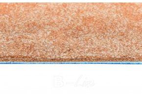 Metrážový koberec bytový Serenade 313 oranžový - šíře 4 m