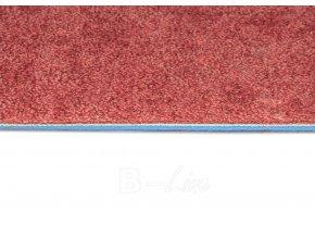 Metrážový koberec bytový Serenade 316 červený - šíře 4 m