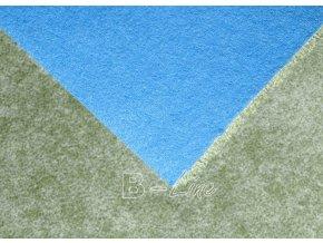 Metrážový koberec bytový Serenade 611 zelený - šíře 4 m (Šíře role Cena za 1 m2)