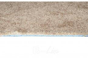 Metrážový koberec bytový Serenade 827 hnědý šíře 4 m