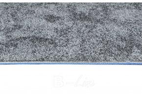 Metrážový koberec bytový Serenade 965 šedý - šíře 4 m (Šíře role Cena za 1 m2)