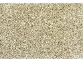 Metrážový koberec bytový Serenity 755 hnědý šíře 3 m