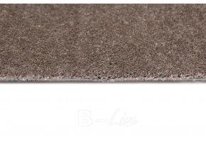 Metrážový koberec bytový Spinta 44 hnědý šíře 4 m