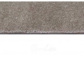Metrážový koberec bytový Spinta 49 šedý šíře 4 m