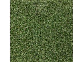 Umělý travní koberec Prado bez nopů - šíře 4 m