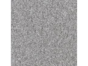 Metrážový koberec zátěžový Inline 5705 černý - šíře 4 m