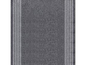 Koberec běhoun buklák  Natura 3427 šedá -  šíře 80 cm