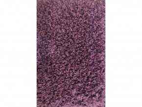 Metrážový koberec bytový Color Shaggy  fialový - šíře 4 m
