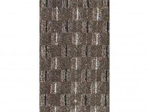 Metrážový koberec bytový Valencia  hnědý - šíře 4 m