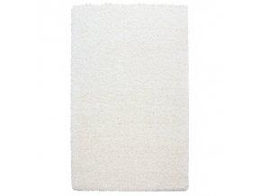 Chlupatý kusový koberec Life Shaggy 1500 krémový (Typ kulatý 80 cm)