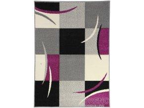 Moderní kusový koberec Portland 3064Z23M | fialový