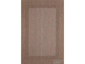 Moderní (buklák) kusový koberec Adria 01DED | hnědý