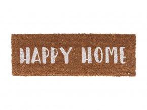 Rohožka Present Time Happy Home | bílá