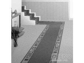 Moderní koberec běhoun Jena 77 modrý
