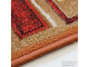 Moderní koberec běhoun Jena 84 oranžový