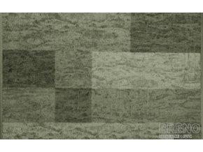 Moderní koberec běhoun Icona 29 zelený