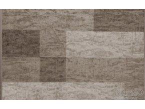 Moderní koberec běhoun Icona 39 šedý