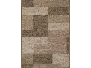 Moderní koberec běhoun Icona 39 šedý (Šíře role šíře 120 cm)