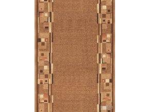 Moderní koberec běhoun Bombay 33 světle hnědý