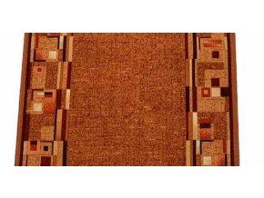 Moderní koberec běhoun Bombay 84 oranžový