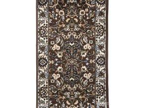 Klasický koberec běhoun Practica 59/DMD |hnědý