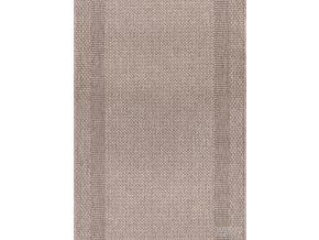 Moderní koberec bouclé běhoun Adria 01/BEB béžový
