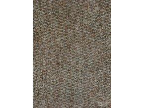 Metrážový koberec zátěžový Piccolo 153 Res hnědý - šíře 4 m
