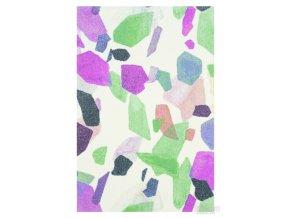Moderní kusový koberec Pastel Art 32/VRV| vícebarevný