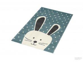 Dětský kusový koberec Pastel Kids 52/KVK | zelený