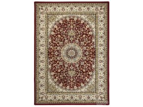 Klasický kusový koberec Da Vinci 57119/1414 | červený