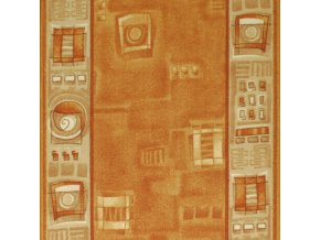 Moderní běhoun Zara 973 | světle hnědý