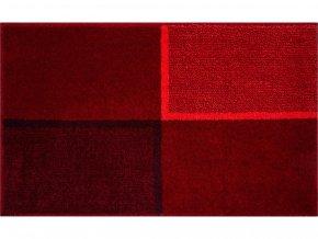 Koupelnová předložka GRUND Diviso | červená (Typ 60x60 cm)