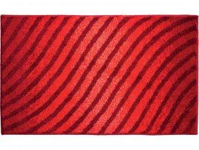 Koupelnová předložka GRUND Eternity | rubínová (Typ 50x60 cm)