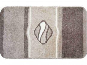 Koupelnová předložka GRUND Jewel | tmavěšedivá (Typ 60x60 cm)