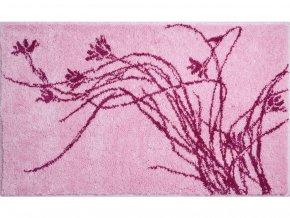 Koupelnová předložka GRUND Lily | růžová (Typ 70x120 cm)