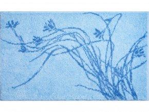 Koupelnová předložka GRUND Lily | modrá (Typ 50x60 cm)