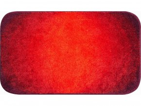 Koupelnová předložka Grund Moon 1022 | červená (Typ 50x60 cm)