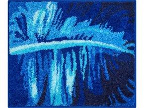 Koupelnová předložka Grund Tropical | modrá (Typ 50x60 cm)