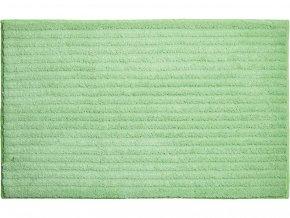 Koupelnová předložka GRUND Riffle | zelená (Typ 50x60 cm)