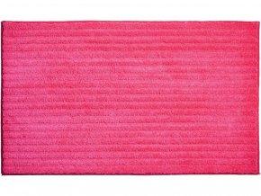 Koupelnová předložka GRUND Riffle | růžová (Typ 50x60 cm)