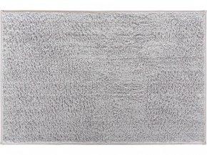 Koupelnová bavlněná předložka Grund Marla | šedá (Typ 80x140 cm)