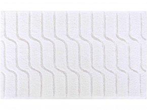 Koupelnová bavlněná předložka Grund Vogue | bílá (Typ 60x60 cm)
