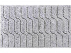 Koupelnová bavlněná předložka Grund Vogue | šedá (Typ 60x100 cm)
